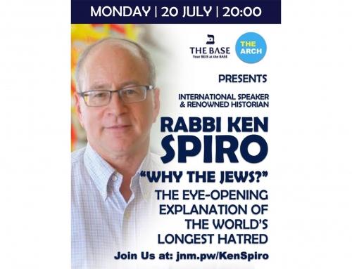 Ken Spiro – Episode 3: Why the Jews